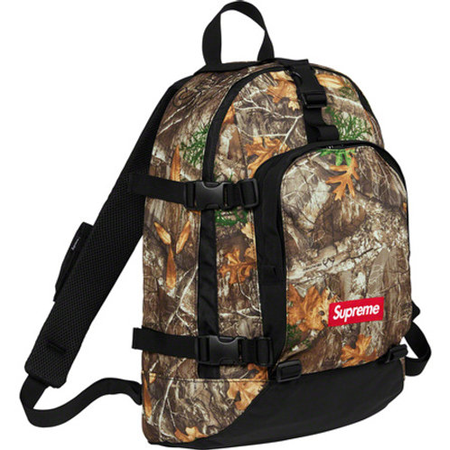 Supreme FW19 back pack (Real tree camo)