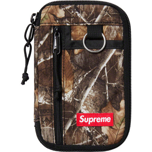 copy of Supreme FW19 Small Zip Pouch (Real tree camo)