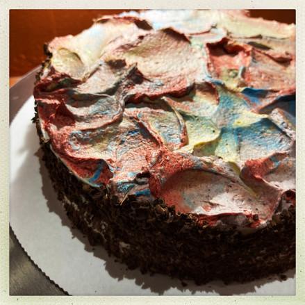 Chocolate Chaos Cake