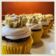 Vanilla Peanut Butter Cupcakes