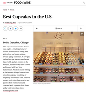 Review for Cupcake Bakery I established