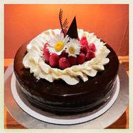 Chocolate Raspberry Cake