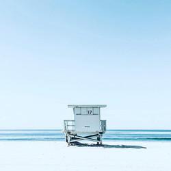 Social Media Post Beach Scene