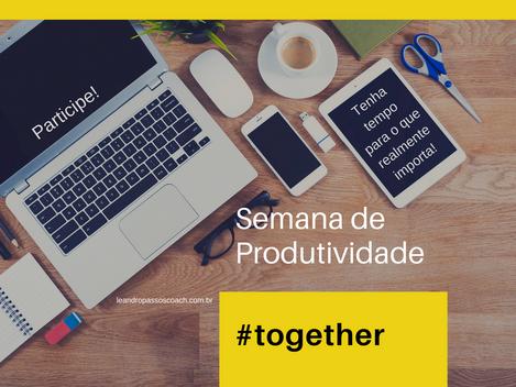 Semana de produtividade #together