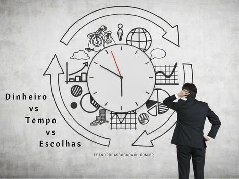 Dinheiro vs Tempo vs Escolhas