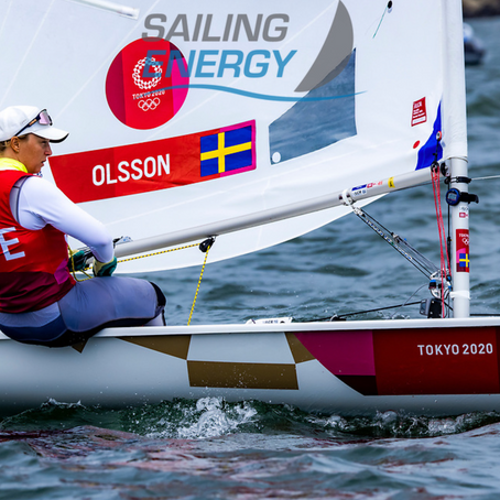 Josefin in Bronze with Medal Race to go!