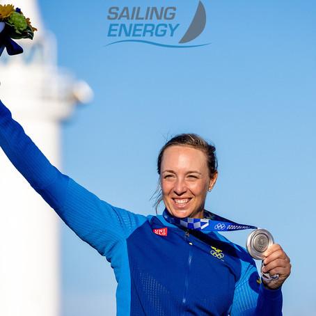 Silver Medal for Josefin Olsson Sweden!