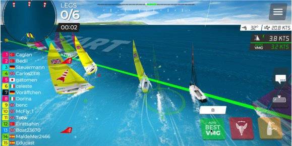 VR Inshore Coached Sessions