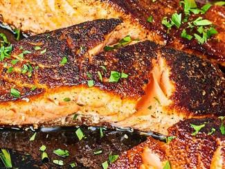 10 Minute Blackened Salmon