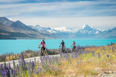 Fahrradtour am Lake Pukaki