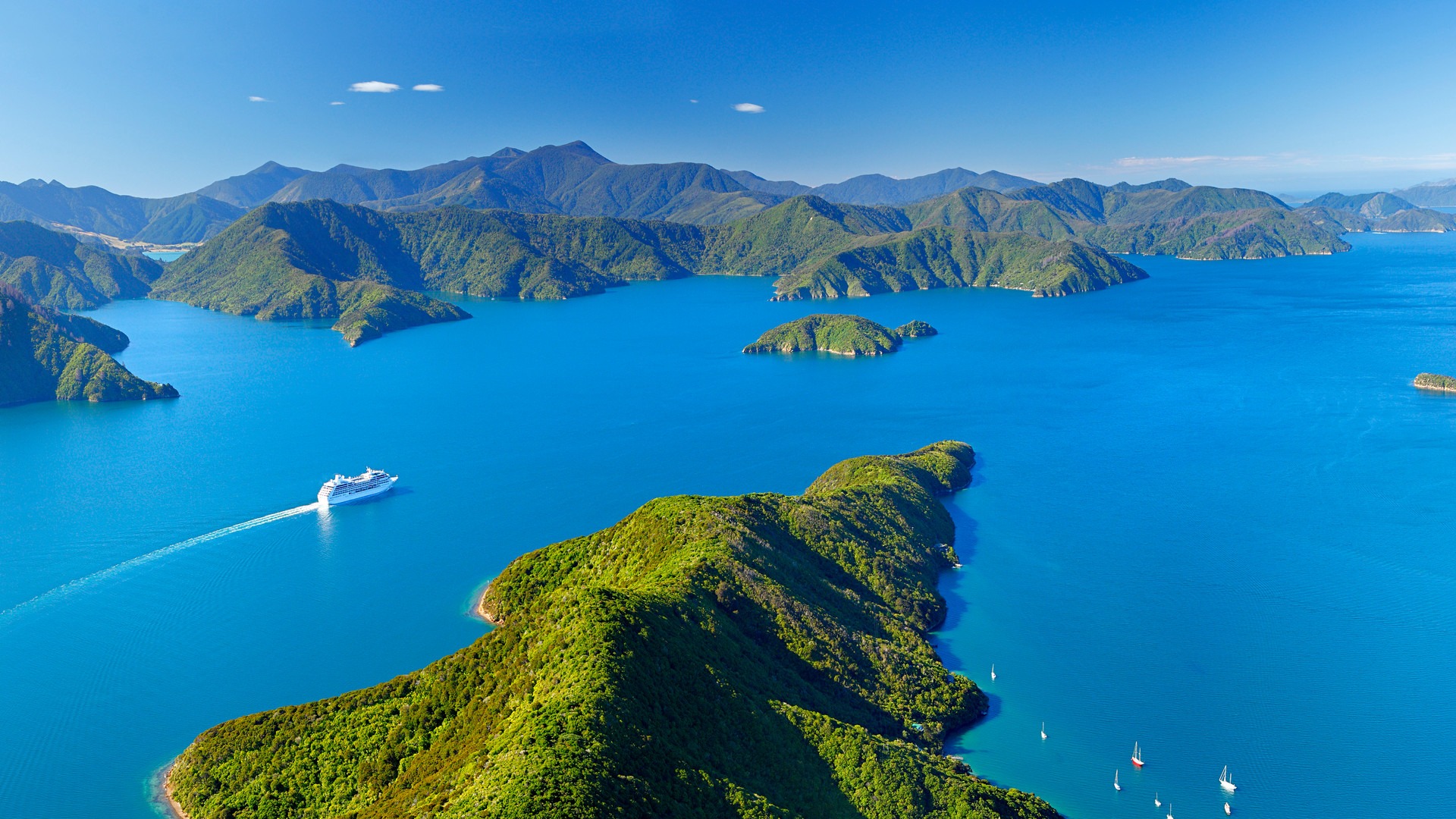 Neuseeland-Marlborough-Sounds-Marlboroug