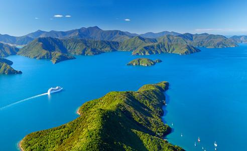 Neuseeland-Marlborough-Sounds-Marlboroug