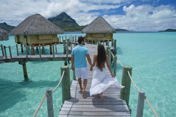 Honeymooner auf Bora Bora