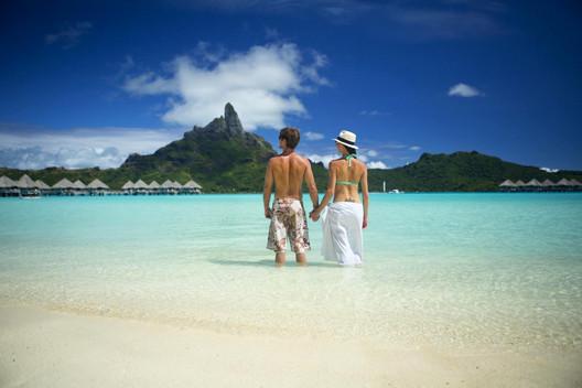 Lagune von Bora Bora