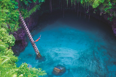 To Sua Pool auf Upolu / Samoa