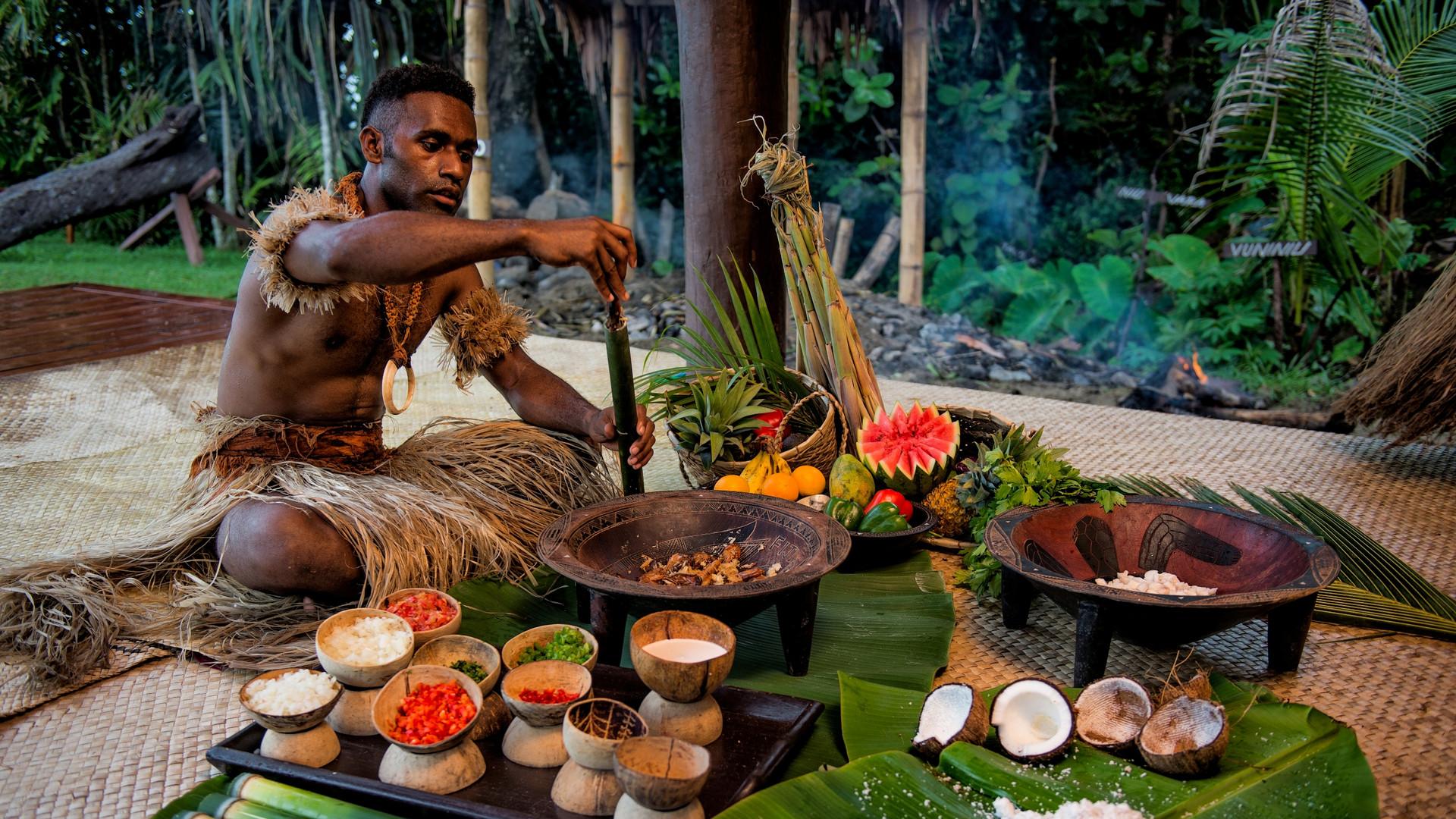 Nanuku_Auberge_Resort-Fijianisches_Mittagessen