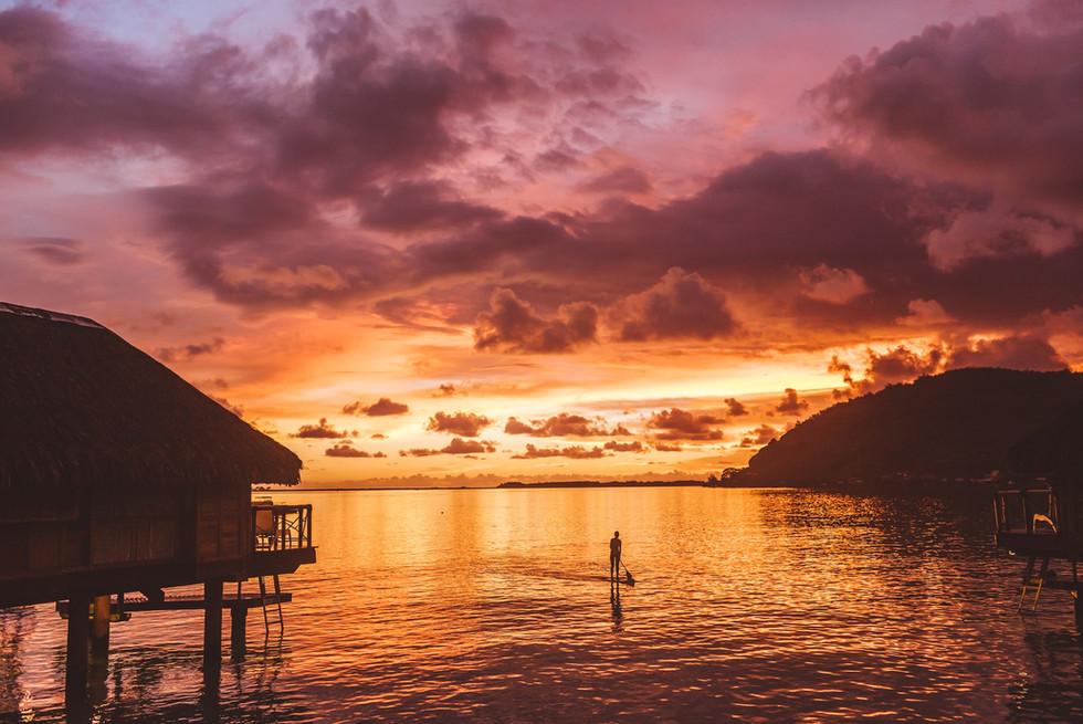Französisch_Polynesien-Sonnenuntergang