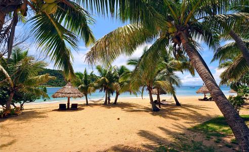 Paradise_Cove_Resort-Sandstrand