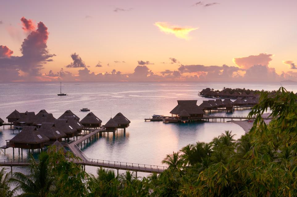 Conrad_Bora_Bora_Nui-Sonnenuntergang