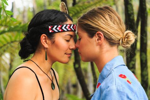 Maori Begrüßung