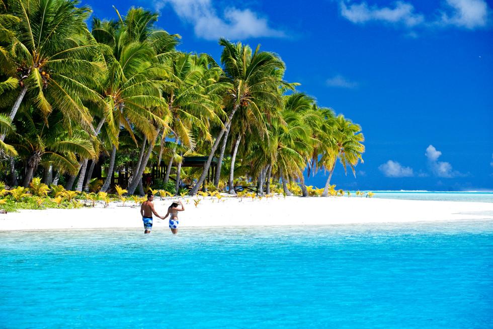 Traumstrand auf Aitutaki