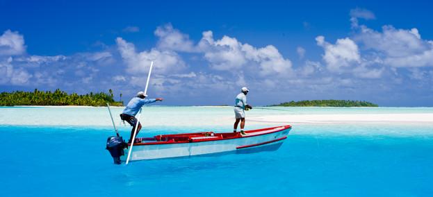 Fischerboot Aitutaki