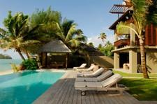 Cook_Inseln-Te_Vakaroa_villa-Pool