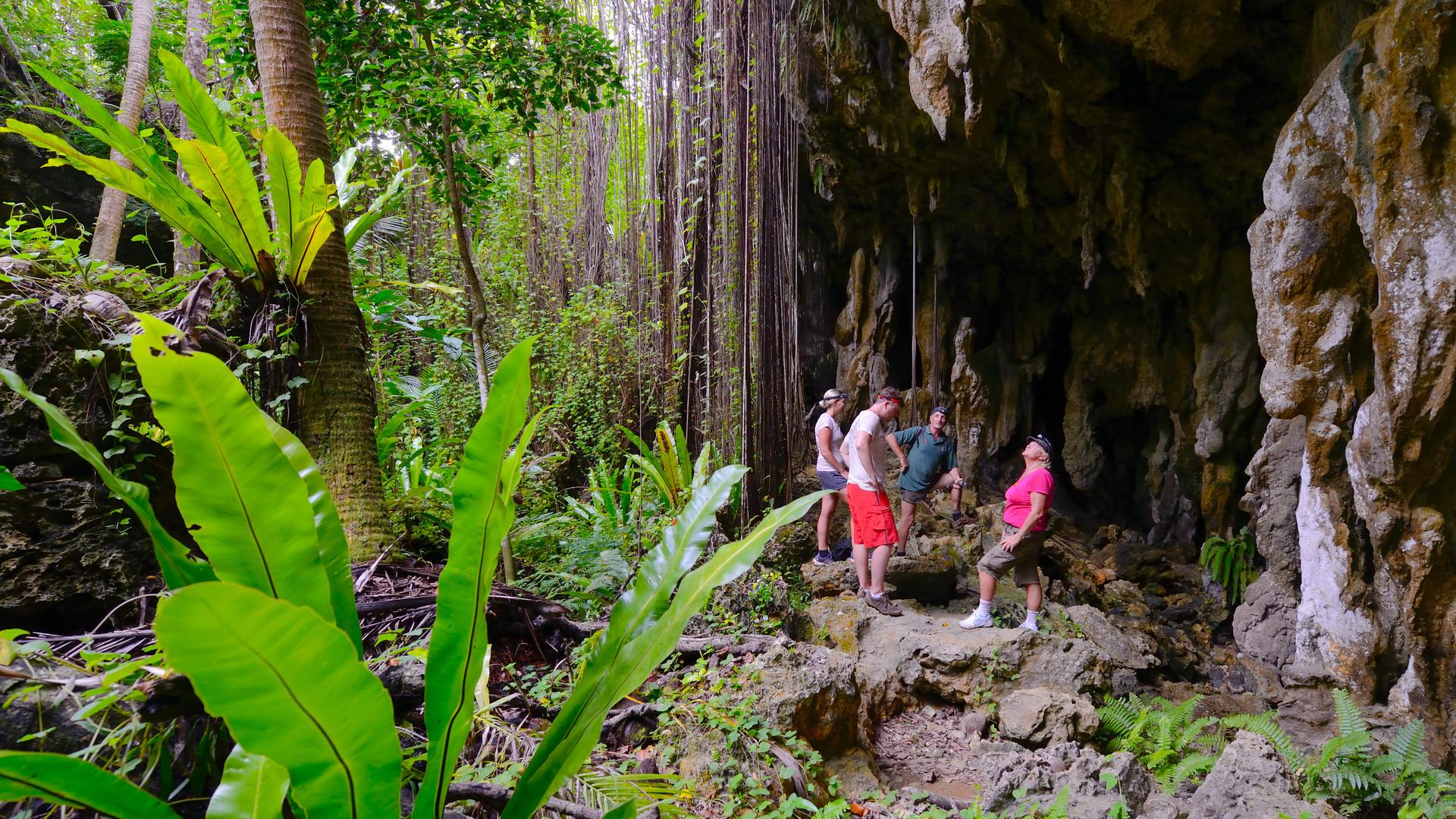 Cook_Inseln-Atiu-Höhle