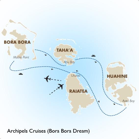 Bora_Bora_Dream_Cruise-Route
