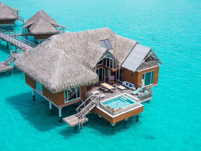 Bora Bora - Brando Overwater Suite (Intercontinental Bora Bora Resort & Thalasso Spa)