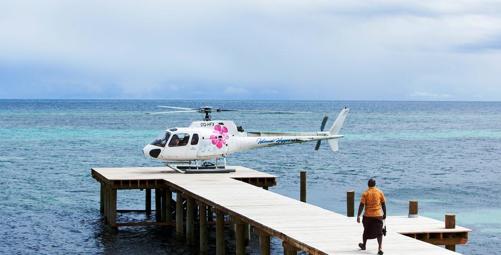 Tokoriki-Hubschraubertransfer