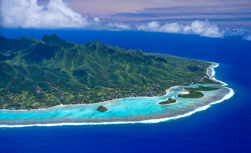 Cook_Inseln-Rarotonga_Luftansicht