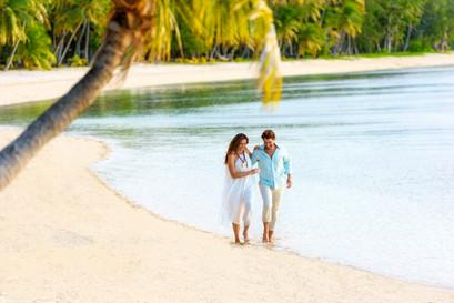 Strandspaziergang Yasawa Inseln / Fiji