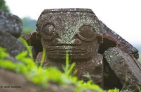 Tiki auf den Marquesas