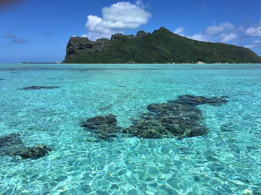 Lagune von Maupiti