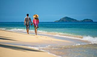 Fiji Strandspaziergang