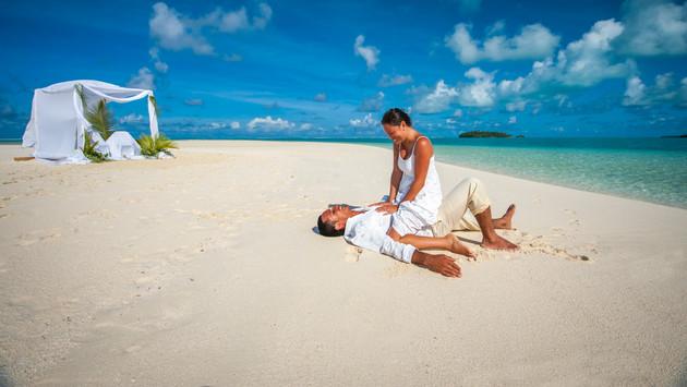 Hochzeitsreise Cook Inseln