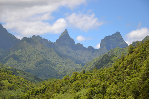 Tahitis Berggipfel