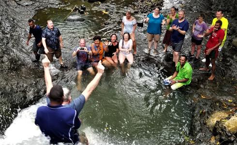 Wananavu-Wasserrutsche
