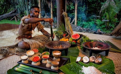 Nanaku_Auberge_Resort-Fijianisches_Mittagessen