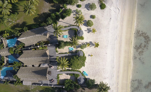 Aitutaki_Escape-Villa-Luftansicht