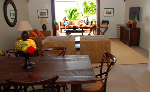 Cook_Inseln-Te_Vakaroa_villa-Lounge