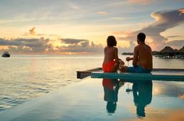 Overwater Pool Villa im Conrad Bora Bora Nui