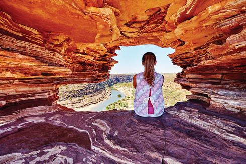 Nature's Window im Kalbarri Nationalpark