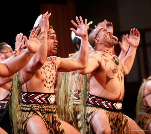 Maori Haka-Tanz