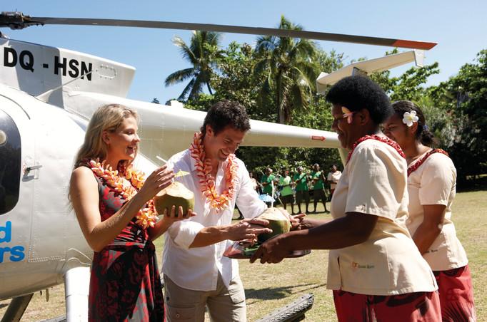 Fiji / Welcome-Blumenkette
