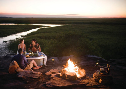 Lagerfeuerromantik im Kakadu Nationalpark