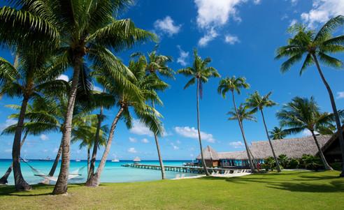 Rangiroa-Hotel_Kia_Ora_Resort-Tropischer_Garten