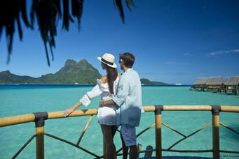 Bora Bora - Lagunenblick