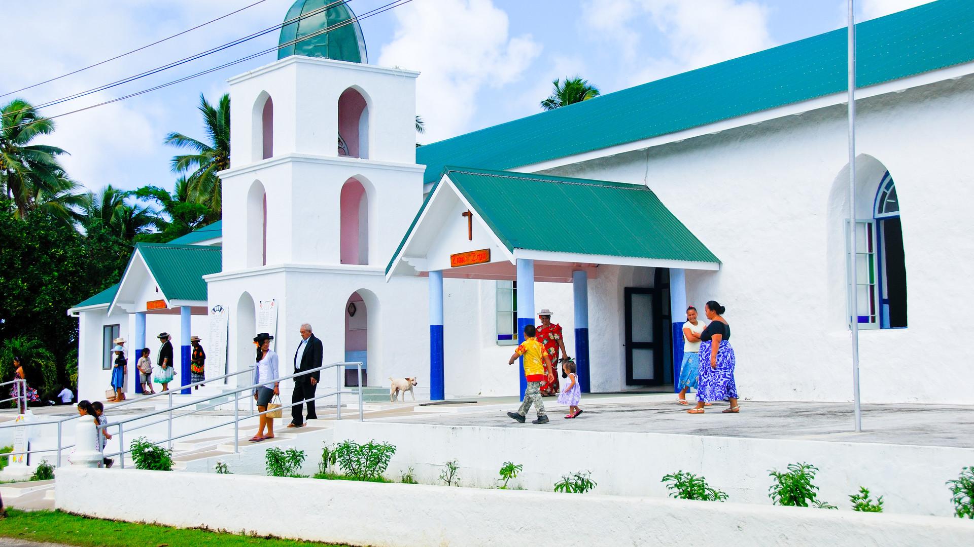 Cook_Inseln-Atiu-Kirche